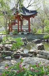 Missouri Botanical Gardens St Louis Park Garden Wedding