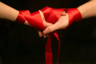Handfasting Ceremony St Louis Wedding Officiant Sark Elking St Louis Wedding Chapel